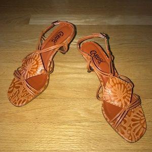 Carlos Santana Mambo Leather Sandals